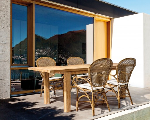 Ambient exterior scaun Edelina si masa Bounty