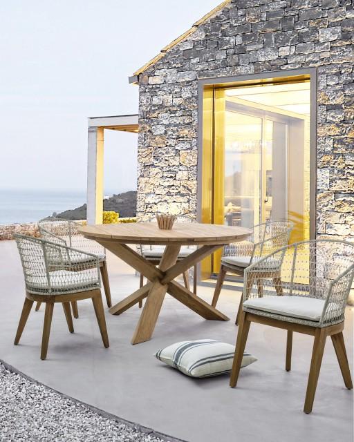 Ambient exterior scaun Gadiel si masa Rift