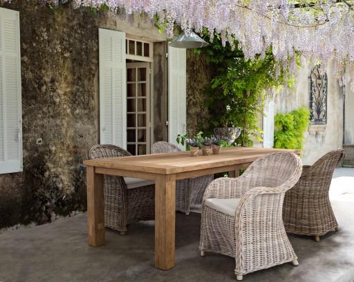 Ambient exterior scaun Martin si masa Bounty