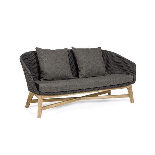 Canapea cu 2 locuri Coachella Charcoal
