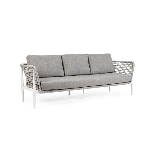 Canapea cu 3 locuri Isidora Alb