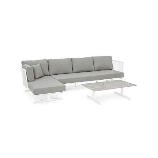 Set mobilier de exterior Althea Grey