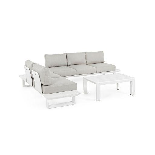 Set mobilier de exterior Konnor Grey